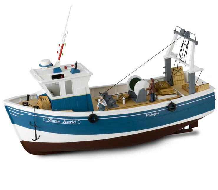 bateau peche rc electrique