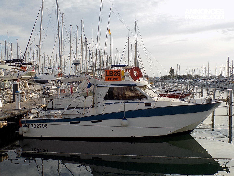 bateau peche sportive a vendre