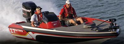 bateau peche sportive eau douce