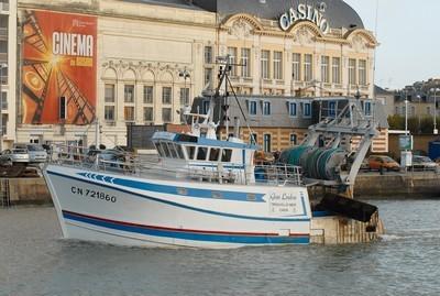 bateau peche trouville