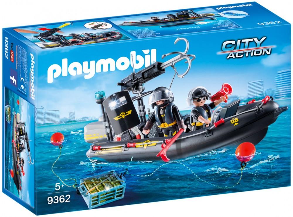 bateau pneumatique action