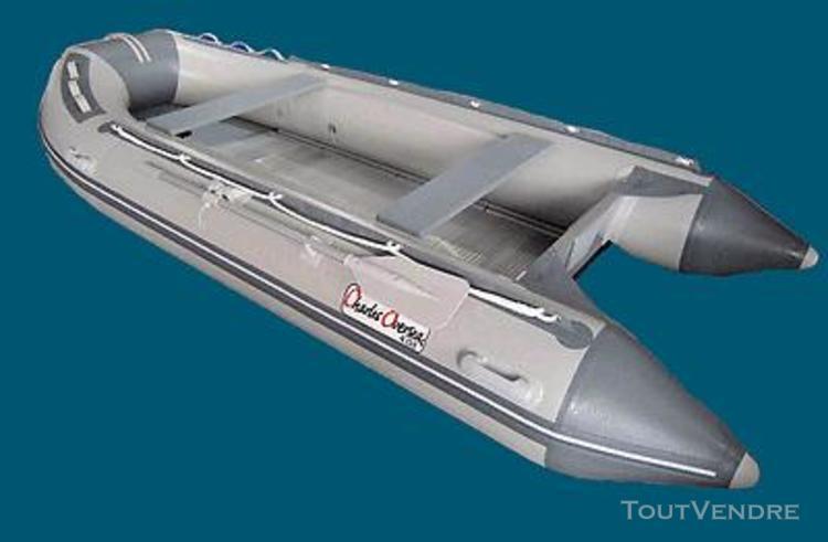 bateau pneumatique fond aluminium