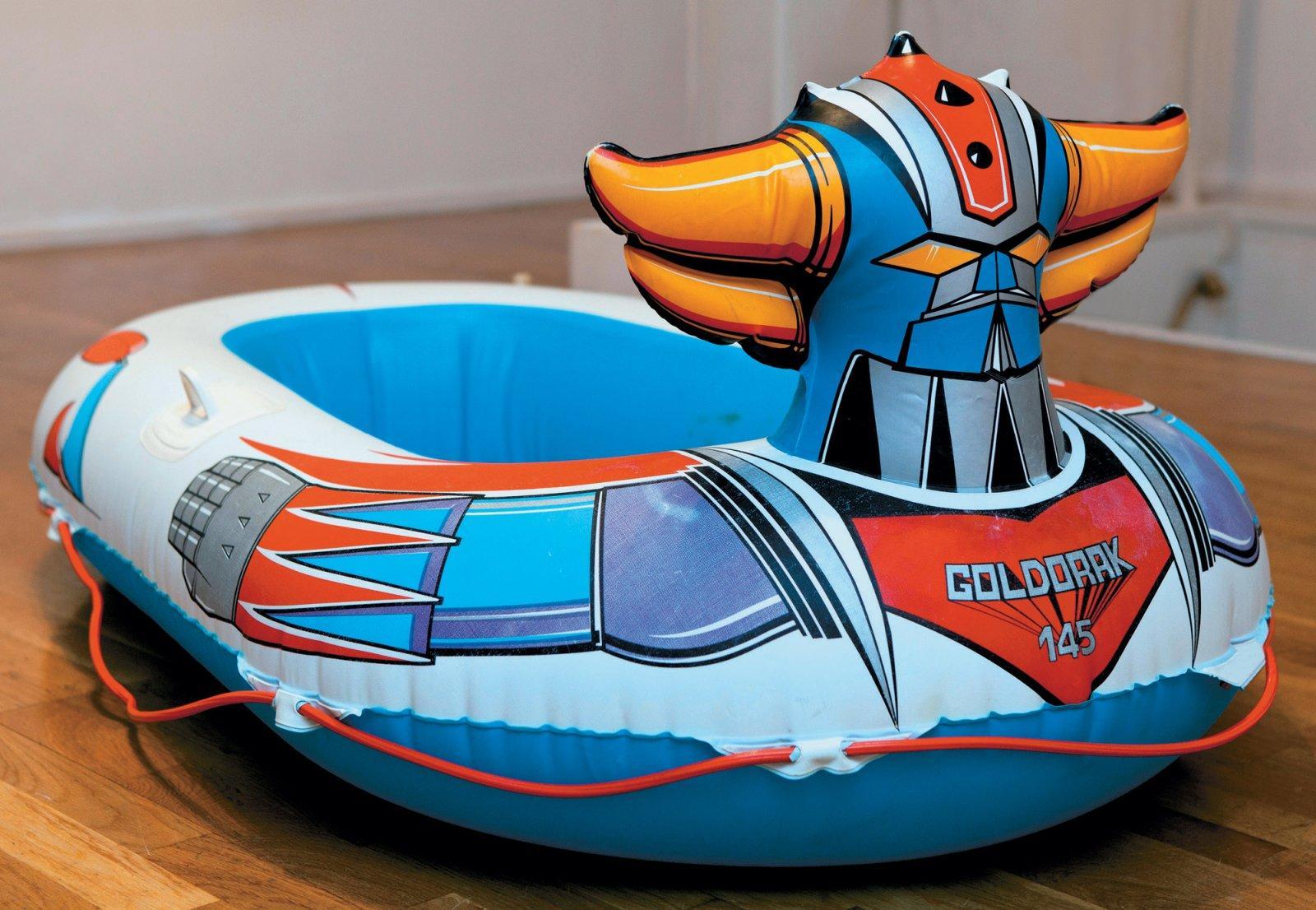 bateau pneumatique goldorak