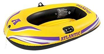 bateau pneumatique jaune