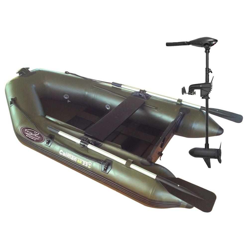 bateau pneumatique navigation aquatrekk caiman sr 230 (plancher a lattes)