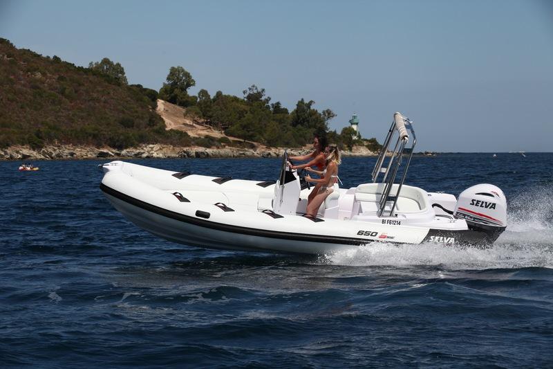 bateau pneumatique selva